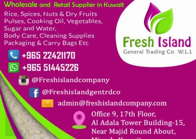 Freshisland Contact